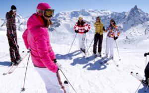 partir-skier